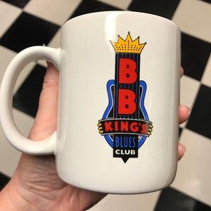 BB King's Memphis Blues Club Coffee Mug Cup